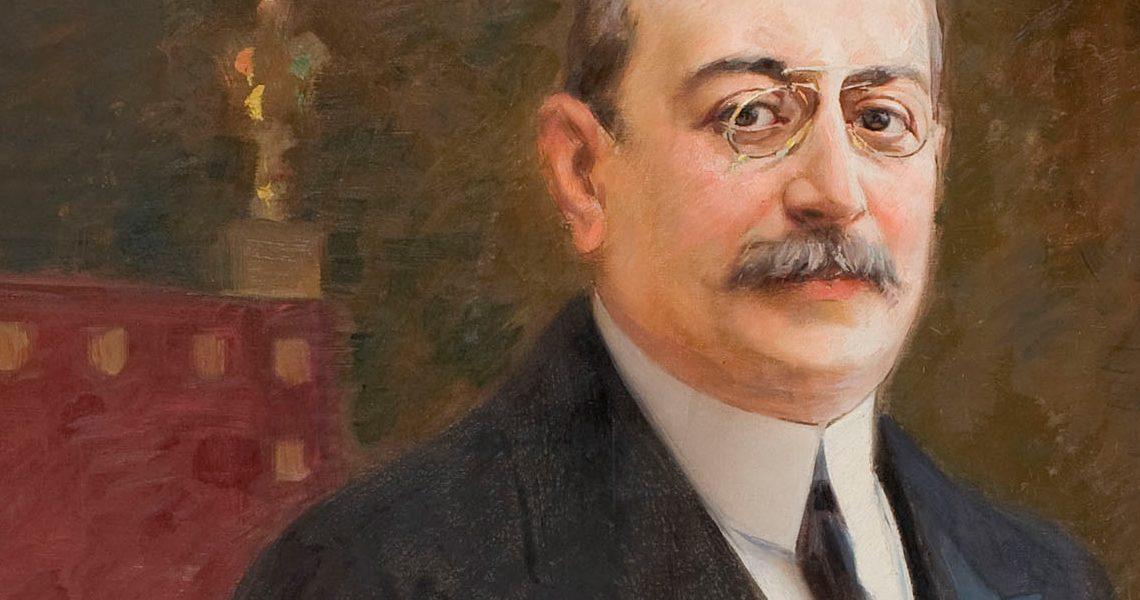 Retrat d'Enric Prat de la Riba – Antoni Utrillo. Cap a 1907-1917 MNAC.